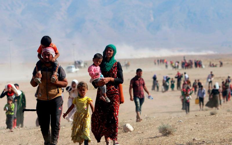 Papa: Enfrentar atual crise migratória implica «acolher, proteger, promover e integrar»