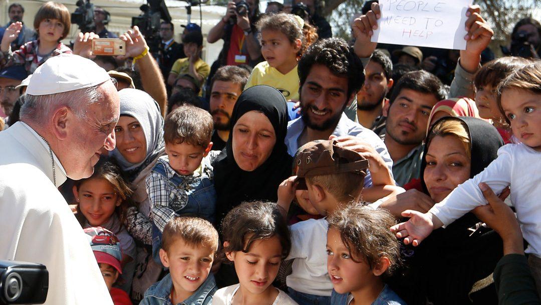 Papa deseja «renovada fraternidade com os migrantes e os refugiados»
