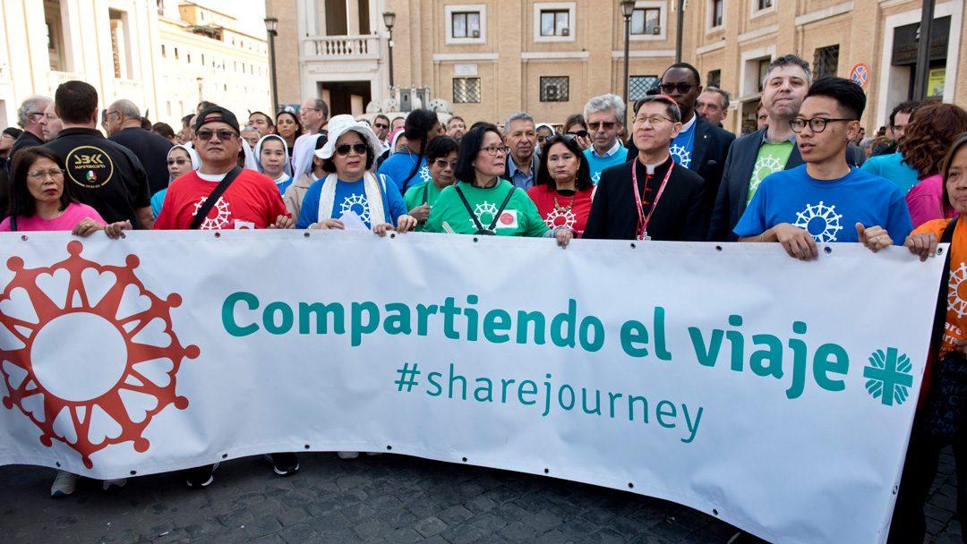 Cáritas iniciou caminhada de 1 milhão de quilómetros ao lado de migrantes e refugiados