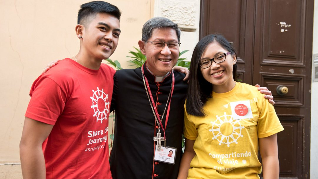 Jovens migrantes têm de ser protagonistas na Igreja – cardeal Tagle